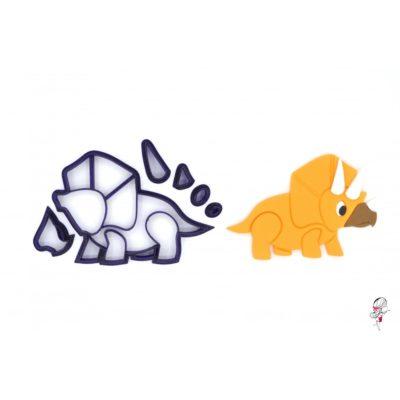 Emporte-pièce Tricératops