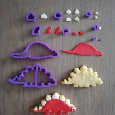 Emporte-pièce en kit Stégosaure