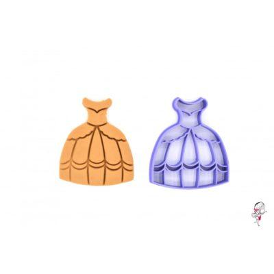 Emporte-pièce Robe de princesse
