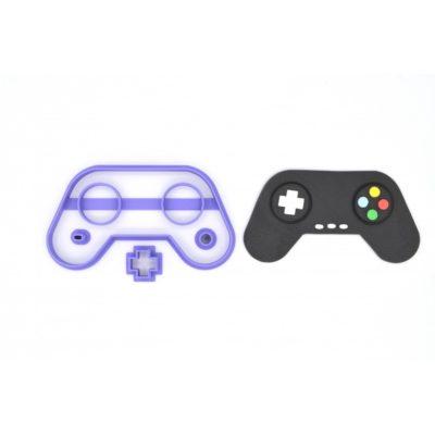 Emporte pièce manette de jeu vidéo