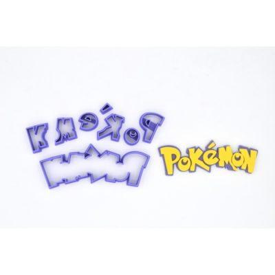 Emporte pièce en kit Ecriture Pokemon