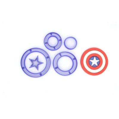 Emporte pièce en kit Captain America