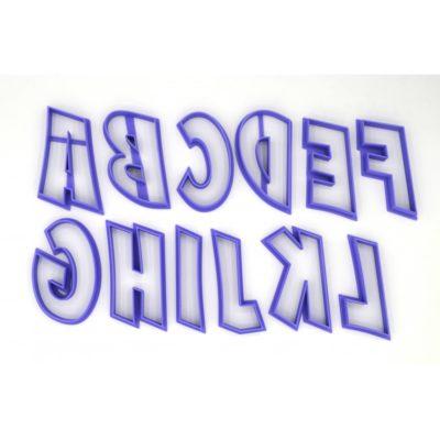 Lot d'emporte pièces Alphabet + Chiffres Comics