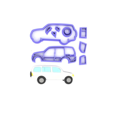 Emporte pièce en kit voiture 4×4