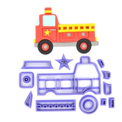 Emporte pièce Camion de Pompier