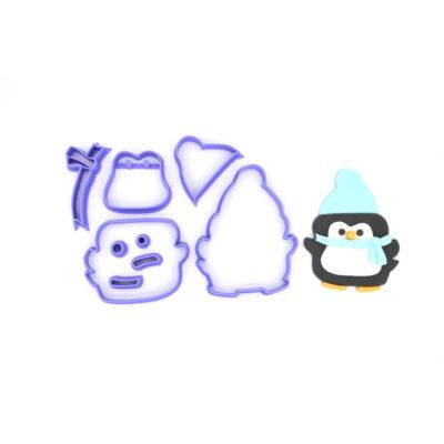 Emporte pièce en kit Pingouin