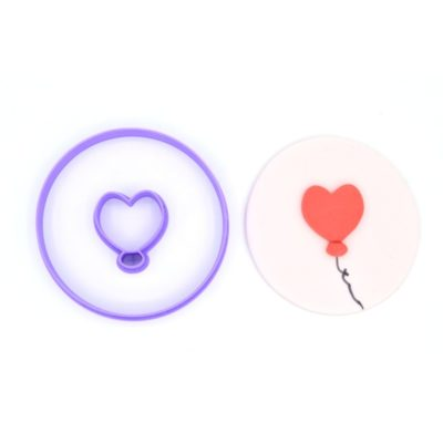 Emporte pièce ballon coeur