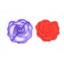 Emporte pièce fleur rouge