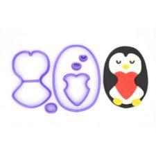 Emporte pièce Pingouin love