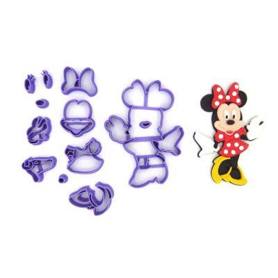 Emporte pièce en kit Minnie entier