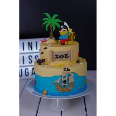 Lot d'emporte pièce pour gâteau Pirates