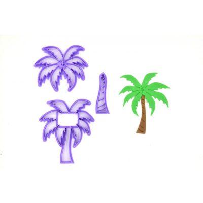 Emporte pièce en kit palmier