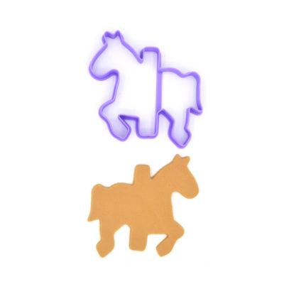 Emporte pièce cheval de carroussel