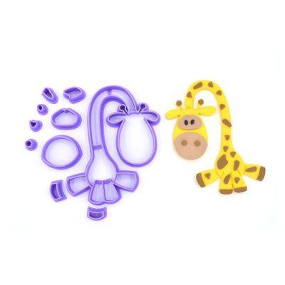 Emporte pièce en kit Girafe