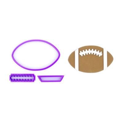 Emporte pièce en kit ballon football americain
