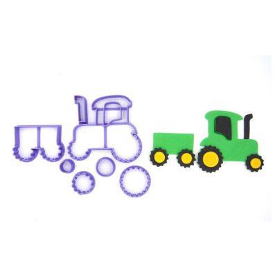 Emporte pièce en kit tracteur