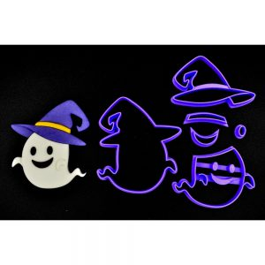 Emporte pièce en kit fantôme sorcier