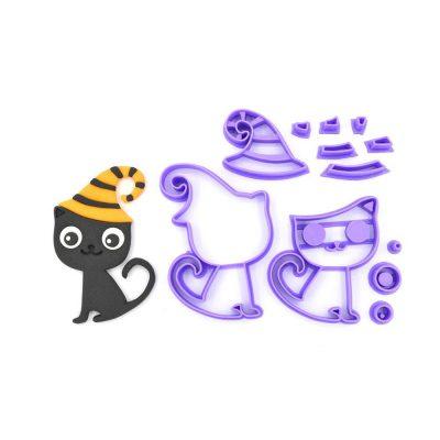Emporte pièce en kit Chat sorcier