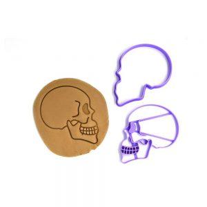 Emporte pièce crâne profil