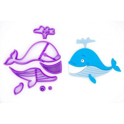 Emporte pièce en kit baleine
