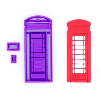 Emporte pièce cabine téléphonique