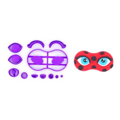 Emporte pièce masque Lady bug