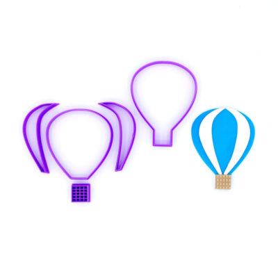 Emporte pièce en kit montgolfière