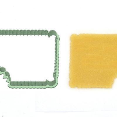 Emporte-pièce biscuit croqué