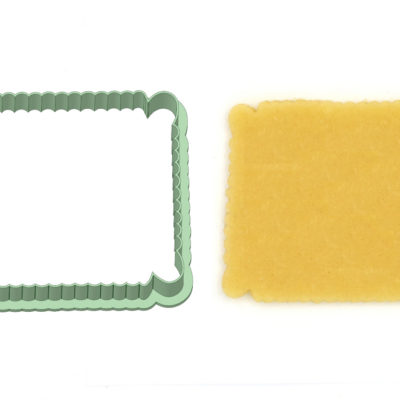 Emporte-pièce biscuit rectangulaire