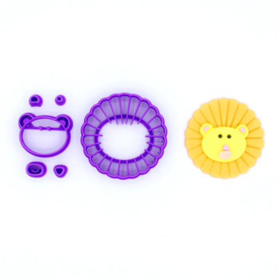 Emporte pièce en kit lion visage
