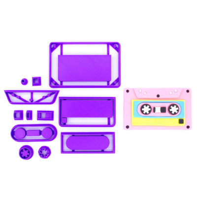 Emporte pièce en kit cassette audio