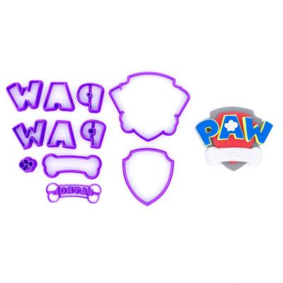 Emporte pièce en kit logo Paw patrol