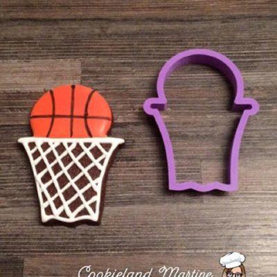 Emporte pièce panier de basket