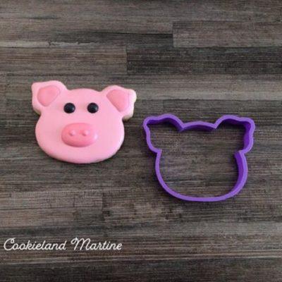 Emporte pièce tête de cochon
