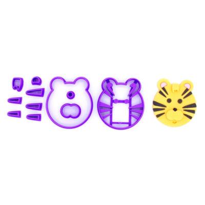 Emporte pièce en kit visage tigre