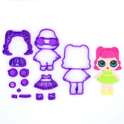 Emporte pièce en kit poupée LOL 2