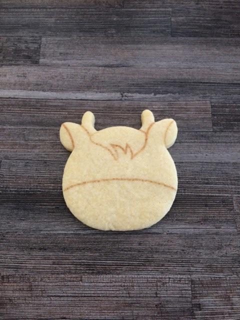 Première photo du pas à pas biscuits décorés
