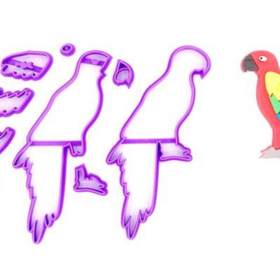 Emporte pièce en kit perroquet