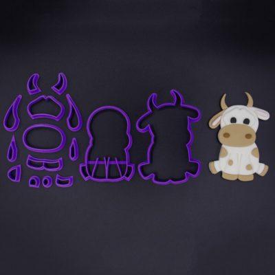 Emporte pièce en kit vache assise