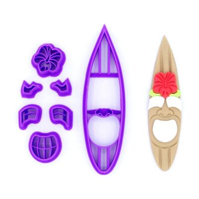 Emporte pièce en kit planche de surf smile