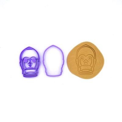 Emporte pièce pour biscuits relief C3PO