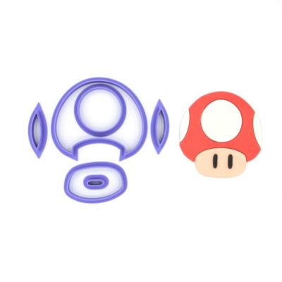 Emporte pièce en kit champignon Mario
