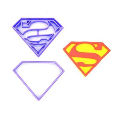 Emporte pièce en kit logo Superman