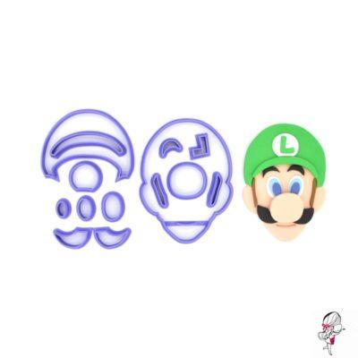 Emporte pièce en kit visage Luigi
