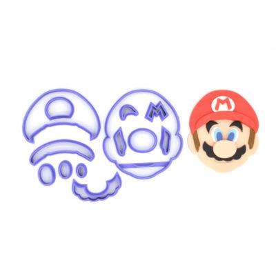 Emporte pièce en kit visage Mario