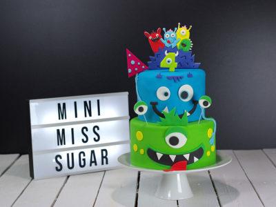 Gâteau monstre pour Halloween