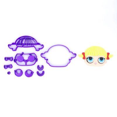 Emporte pièce en kit visage poupée LOL 2