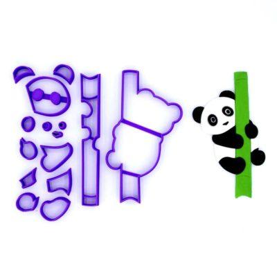 Emporte pièce en kit panda