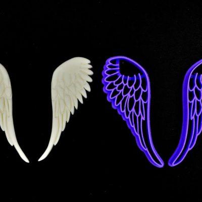 Emporte pièce ailes d'ange
