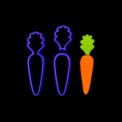 Emporte pièce en kit carotte